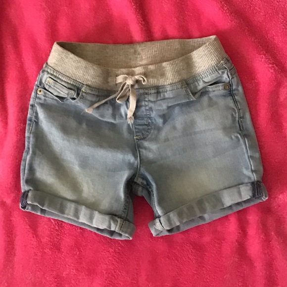 Justice Other - Justice denim shorts with elastic waistband